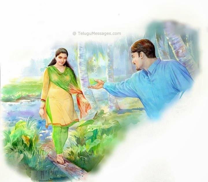 Lover offering shake hand