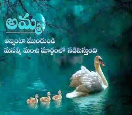 Wonderful Mother Quote in Telugu