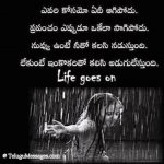 Telugu Quote about Life.