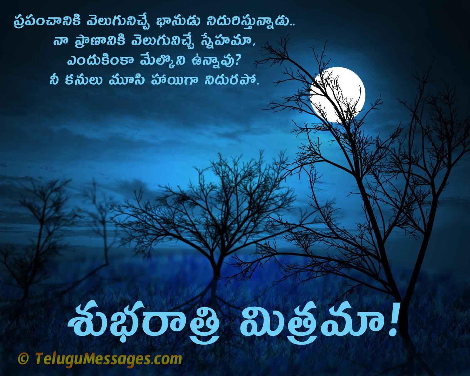 Beautiful Good Night Love Quote for Lover