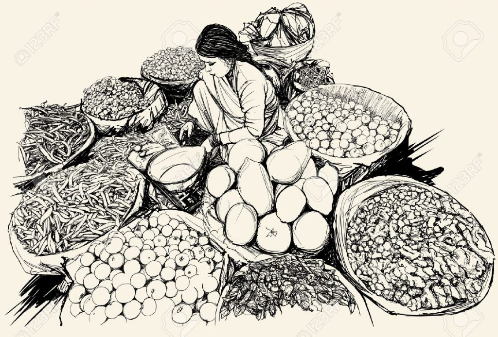 woman-selling-fruits-market