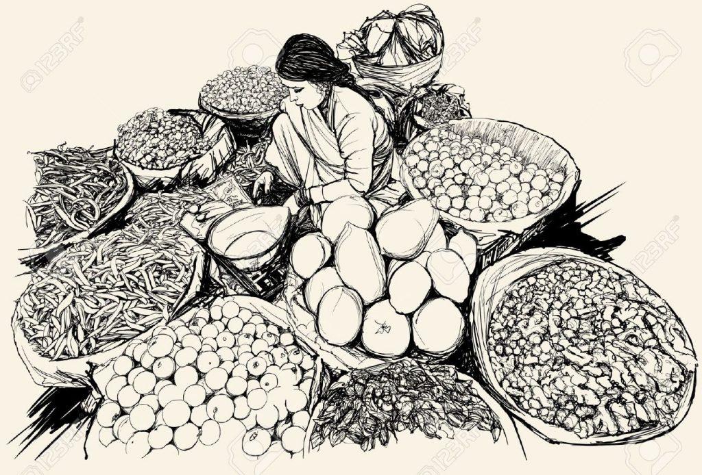 woman-selling-fruits-market