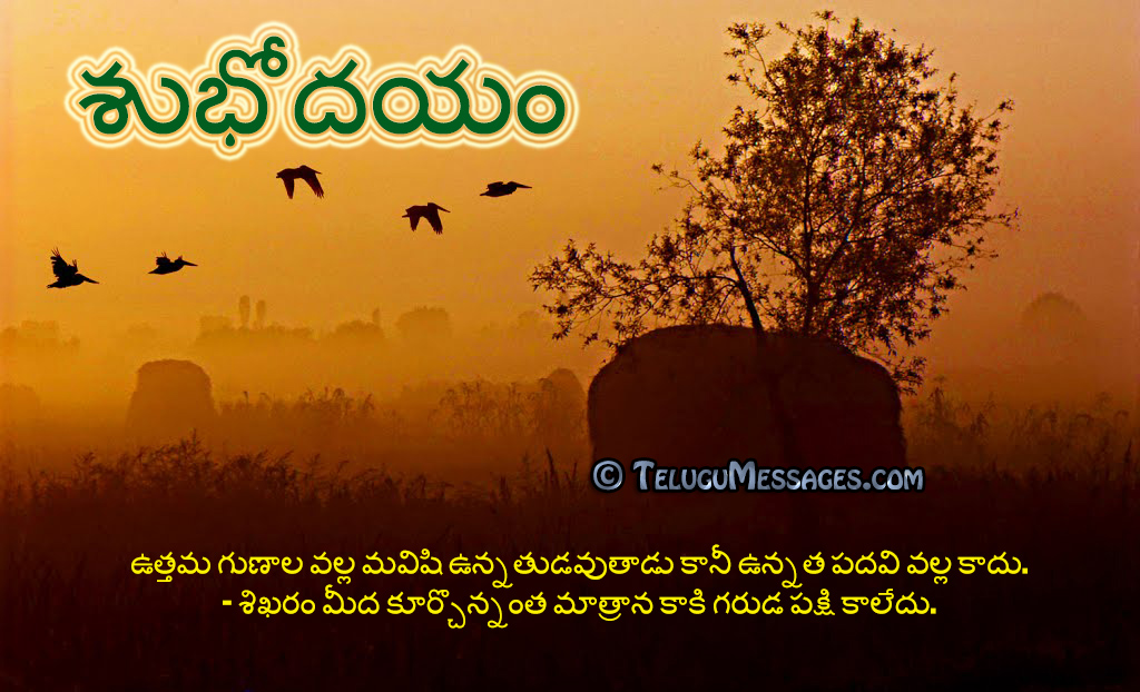Telugu Good Morning Quotes Good Night Good Evening Pictures Love New Telugumessages Com