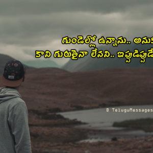 Ignore Love Sad Quotes in Telugu