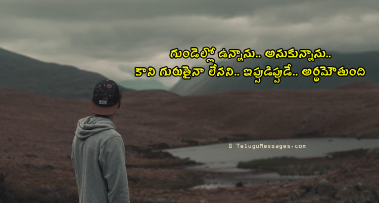 Ignore Love Sad Quotes in Telugu